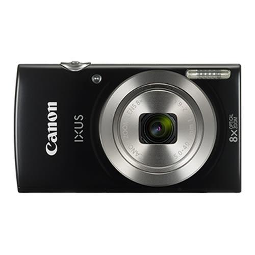 Canon IXUS185時尚隨身機 - 黑【愛買】