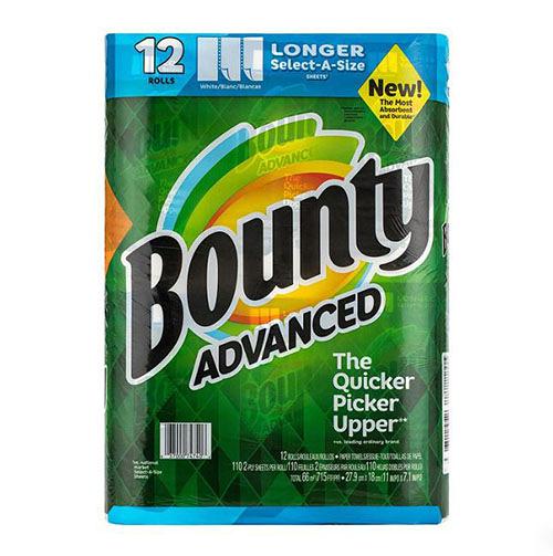 Bounty 隨意撕特級廚房紙巾 110張 X 12捲