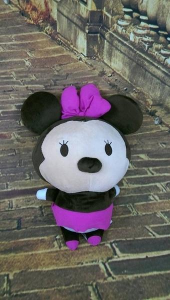 【現貨】《迪士尼》正版授權【胖嘟嘟可愛米妮】tsum tsum 絨毛娃娃抱枕情人節禮物七夕