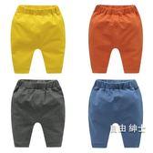 嬰兒大PP褲長褲子春夏男童女寶寶打底褲1歲3外穿小童春裝幼兒春季 1件免運