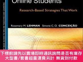 二手書博民逛書店預訂Motivating罕見And Retaining Online Students: Research-Bas