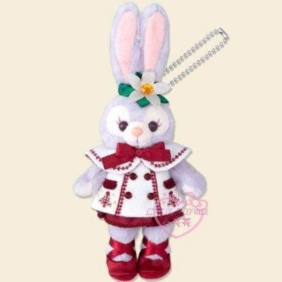 ♥小花花日本精品♥迪士尼樂園限定商品Duffy&Friends站姿吊偶聖誕節系-史黛拉款96526804
