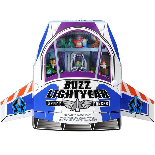 特價 TOMICA 玩具總動員小汽車 巴斯光年宇宙船提盒組_DS85622