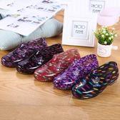 防滑低幫雨鞋雨靴防水鞋膠鞋水靴女工作鞋(7色)SX1304