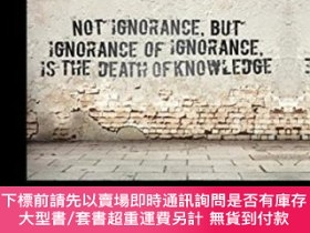 二手書博民逛書店Routledge罕見International Handbook Of Ignorance StudiesY