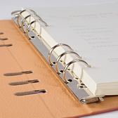 A5B5A4商務皮面加厚可拆活頁記事工作筆記本子辦公用文具 【雙12限時8折】