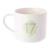HOLA 數字馬克杯 17號 380ml 17th Seventeenth