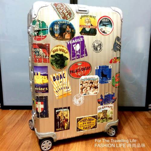 【時尚品味】- [全省可郵寄]行李箱出租RIMOWA TOPAS 鋁鎂合金,一天200元!