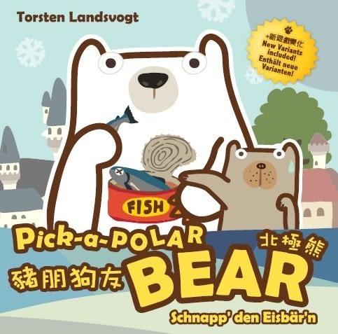 豬朋狗友 北極熊 新天鵝堡德國桌上遊戲   (音樂影片購)