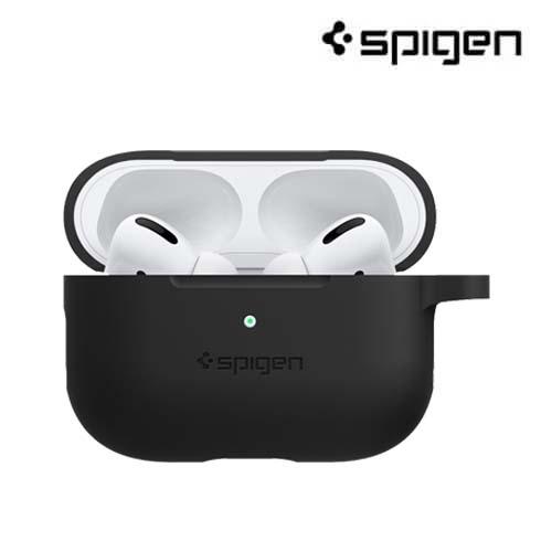 【現貨+預購】Spigen AirPods Pro Silicone Fit 保護殼 Apple 蘋果 抗噪耳機 SGP 耳機保護套 保護殼 四色