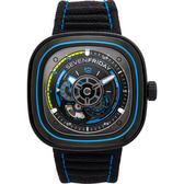 SEVENFRIDAY 海藍 自動上鍊機械錶 P3C/03