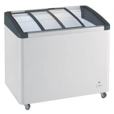 德國利勃LIEBHERR 2尺8 弧型玻璃推拉冷凍櫃199L(EFI-2053)