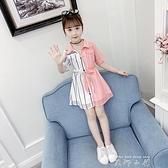 女童洋裝夏裝2021新款兒童超洋氣公主裙大童裝小女孩雪紡裙子潮 米娜小鋪