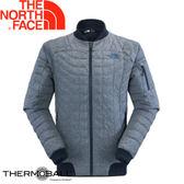 【The North Face 男款 ThermoBall 保暖外套 都會藍】NF0A2UBS/兜帽夾克/大衣/風衣/媲美羽絨科技★滿額送