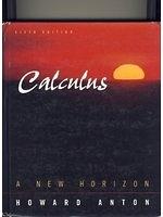 二手書博民逛書店 《Calculus: A New Horizon, Combined, 6th Edition》 R2Y ISBN:0471153060│HowardAnton