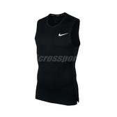 Nike 背心 Pro Sleeveless Top 黑 白 男款 緊身衣 運動 訓練 【ACS】 BV5601-010