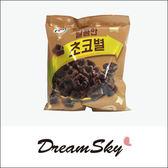 韓國 7-11 限定 酥脆 巧克力星星 餅乾 巧克力餅乾 76g Dreamsky