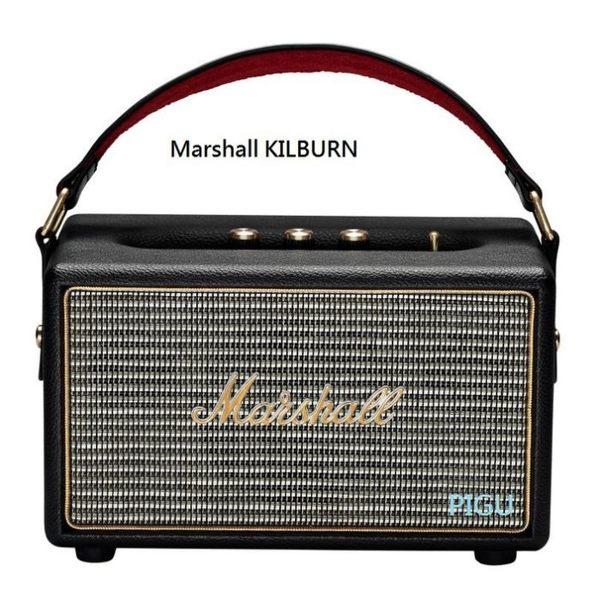 平廣 送耳機 Marshall KILBURN 黑色 藍芽喇叭 喇叭 3.5mm音源輸入 攜帶外出型 台灣公司貨保固1年