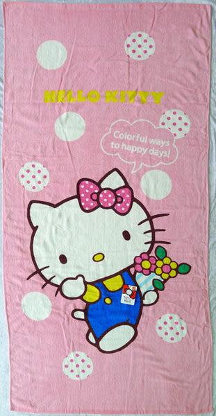 ★衣心衣足★Hello Kitty 棉質大浴巾 【64750-3】
