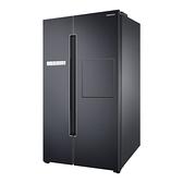 110/10/31前贈氣泡水機 SAMSUNG三星 795L Homebar 美式對開 數位變頻電冰箱 RS82A6000B1/TW 幻夜黑