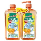 依必朗天然柑橘抗菌洗潔精1000g*2入【愛買】