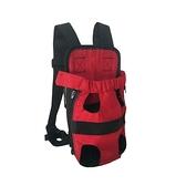 寵物外出包 外出寵物背包夏季狗狗透氣胸前包耐用帆布狗包貓咪背包寵物雙肩包