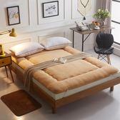 床墊墊被床褥子學生宿舍1.5  m床墊背加厚單雙人wy