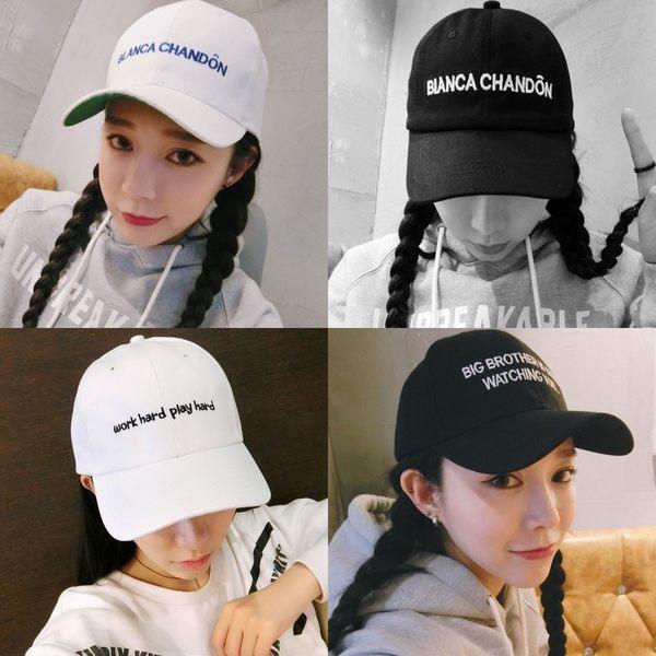 權志龍同款 韓版帽子 男女棒球帽