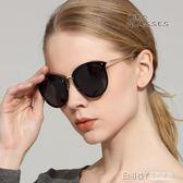 女士偏光太陽鏡2018新款潮圓臉防紫外線墨鏡明星時尚眼鏡長臉 溫暖享家