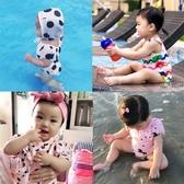 全館83折兒童泳衣女童女孩溫泉寶寶泳衣女小孩1-3歲女寶寶兒童連體泳衣