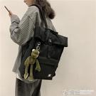 雙肩包雙肩包新款日系男女高中生大容量15.6寸電腦雙肩背包韓版ins大學生書包