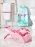 加厚兒童洗頭躺椅寶寶洗頭神器小孩洗頭床可折疊家用洗發椅加大號   (圖拉斯)