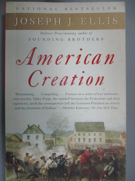 【書寶二手書T1/原文小說_IHS】American Creation: Triumphs and…
