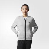 Adidas ID JKT 女 灰 黑 飛行員外套 飛行夾克 運動休閒風 棉質 透氣 愛迪達 BP6726
