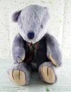 【震撼精品百貨】日本日式精品_熊_Bear~絨毛玩偶-藍紫色