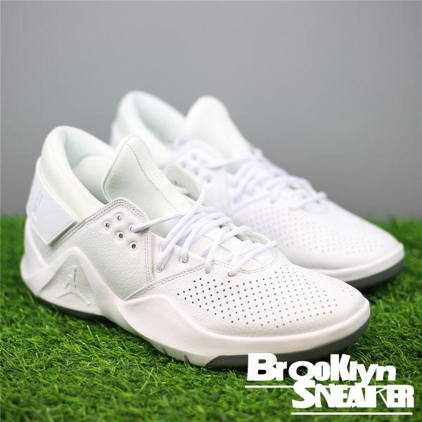 Nike Jordan Flight Fresh PREM 全白 低筒 多功能 訓練鞋 男 (布魯克林) 2018/1月 AH6462-100