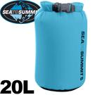 【Sea To Summit  澳洲 70D 輕量防水收納袋20L藍】STSADS/防水收納袋/收納袋/打理包