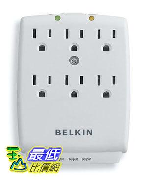 [美國直購] Belkin 六孔 插座 SurgeMaster 6 Outlet Wall-Mount Surge Protector