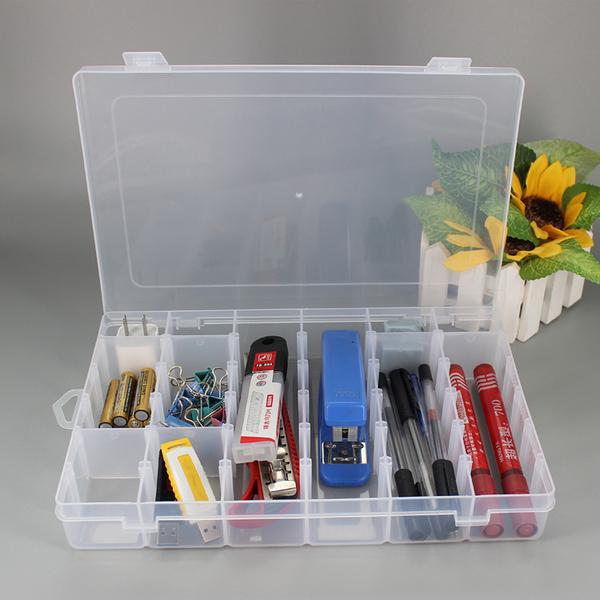 多格可拆透明收納盒 (36格) RN3868 分裝分類 飾品 首飾 材料 手作 儲物 玩具 藥盒