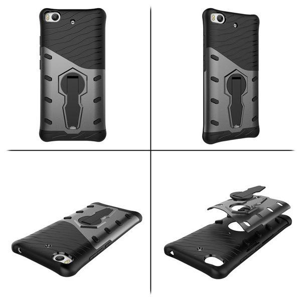 King*Shop---小米5s手機殼 米5s保護套xiaomi mi 5s戰甲外殼360度可旋轉皮套