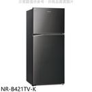 【南紡購物中心】Panasonic國際牌【NR-B421TV-K】422公升雙門變頻冰箱晶漾黑
