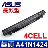 華碩 ASUS A41N1424 原廠規格 電池 FX-PLUS ROGFX-PLUS GL552 GL552J GL552JX  ZX50 ZX50J ZX50JX