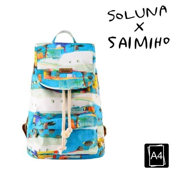 【南紡購物中心】SOLUNA x SAIMIHO聯名系列自動販賣機系列休閒單口後背