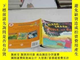 二手書博民逛書店Flash,罕見Crash, Rumble, and Roll[電閃雷鳴]Y200392