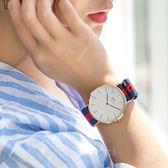 Daniel Wellington DW 瑞典簡約風格手錶 40mm/尼龍/經典款/DW00100001/0101DW