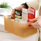 [超豐國際]桌面收納塑料盒子透明辦公桌書...