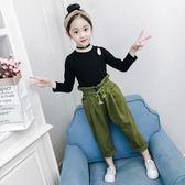 女童套裝秋裝2018新款韓版女孩時尚潮童裝中大兒童洋氣時髦兩件套