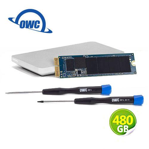 OWC Aura N 480GB NVMe 完整Mac升級套件 SSD 含工具及Envoy Pro 外接盒 (OWCS3DAB2MB05K)