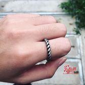 指環套裝 韓版極簡風復古流行簡約氣質百搭螺紋字母套裝男女尾戒關節戒指環 多款可選