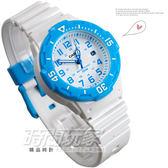 CASIO卡西歐LRW-200H-2B指針錶 白面 藍色數字時刻 38mm 男錶 女錶 中性錶 兒童手錶 石英錶 LRW-200H-2BVDF